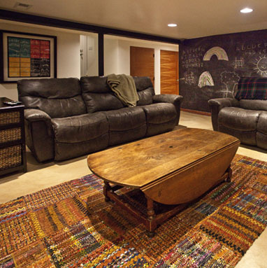 Lair Hill basement remodel