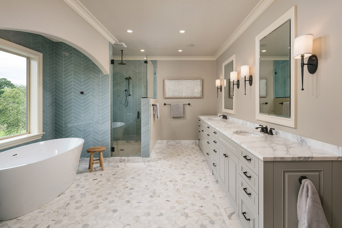 6 Design Ideas For An Unforgettable Luxury Master Bathroom
