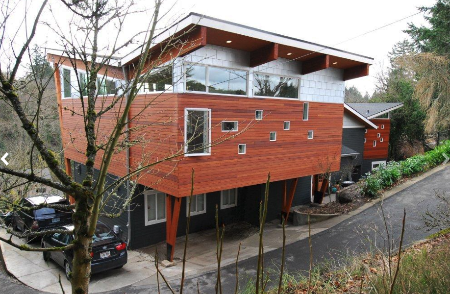 Modern NW Portland Home with an Overhang
